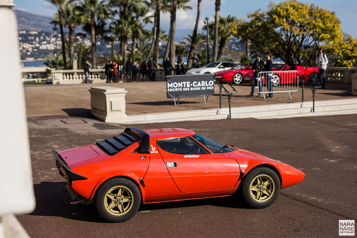Lancia Stratos - Cars & Coffee Monaco
