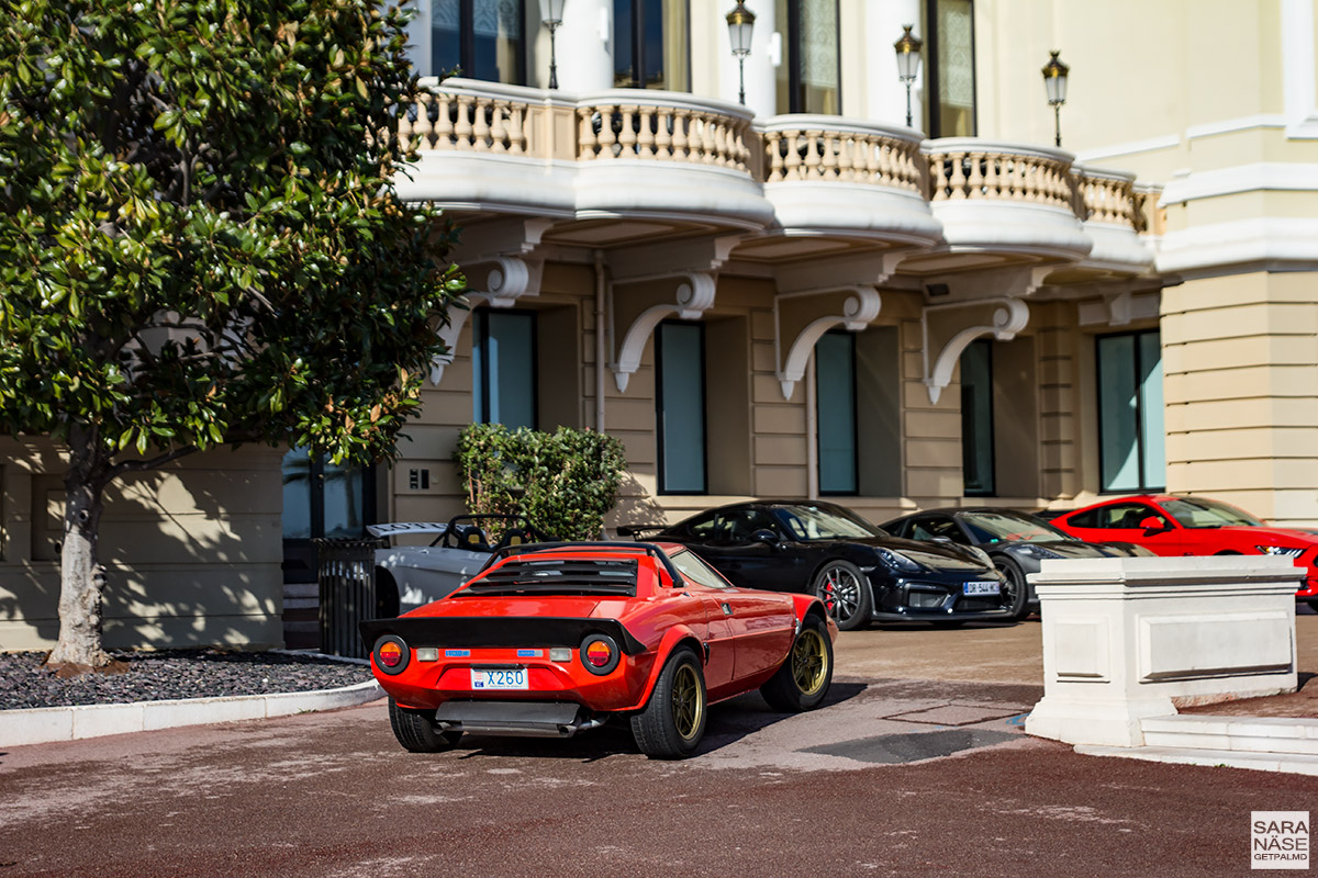 Lancia Stratos - Cars & Coffee Monaco