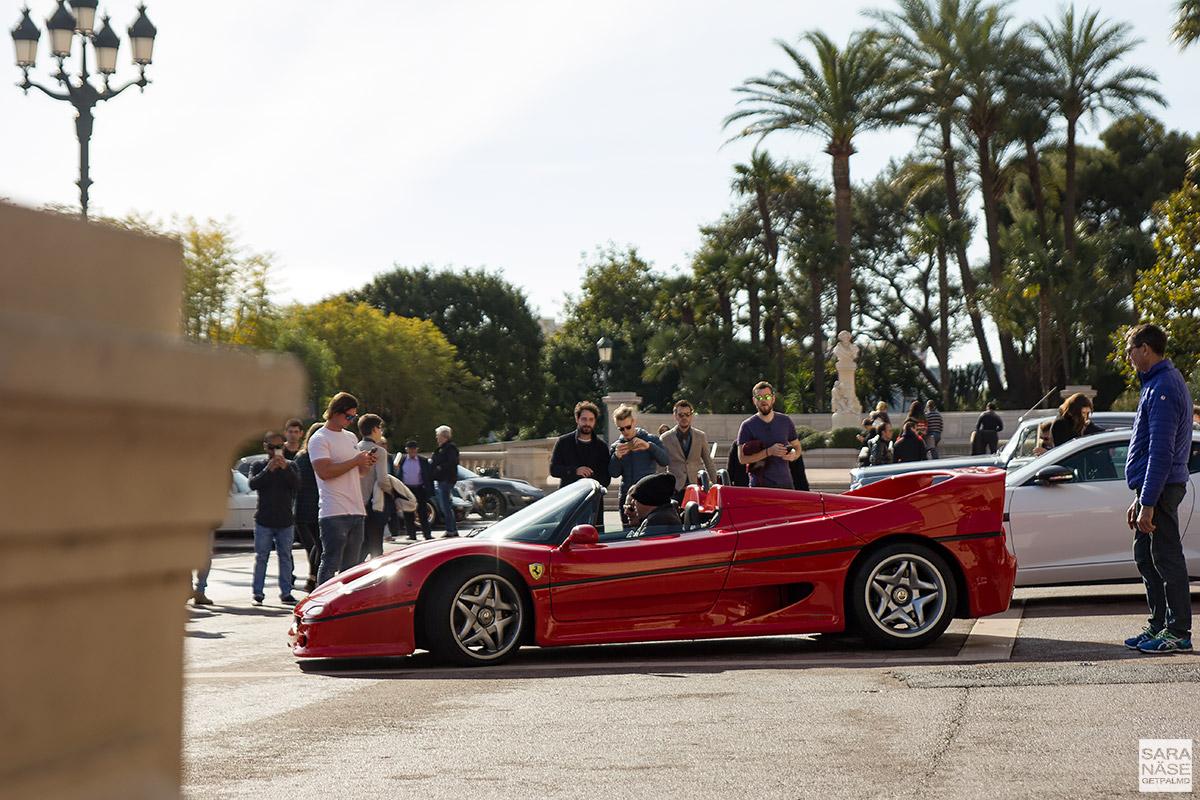 Ferrari F50 - Cars & Coffee Monaco