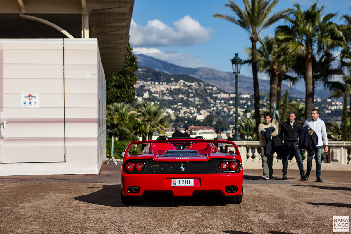 Ferrari F50 - Cars & Coffee Monaco