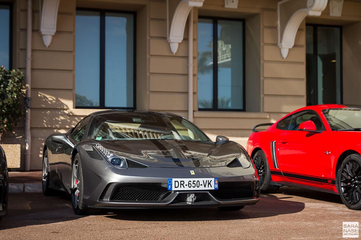 Ferrari 458 Speciale - Cars & Coffee Monaco