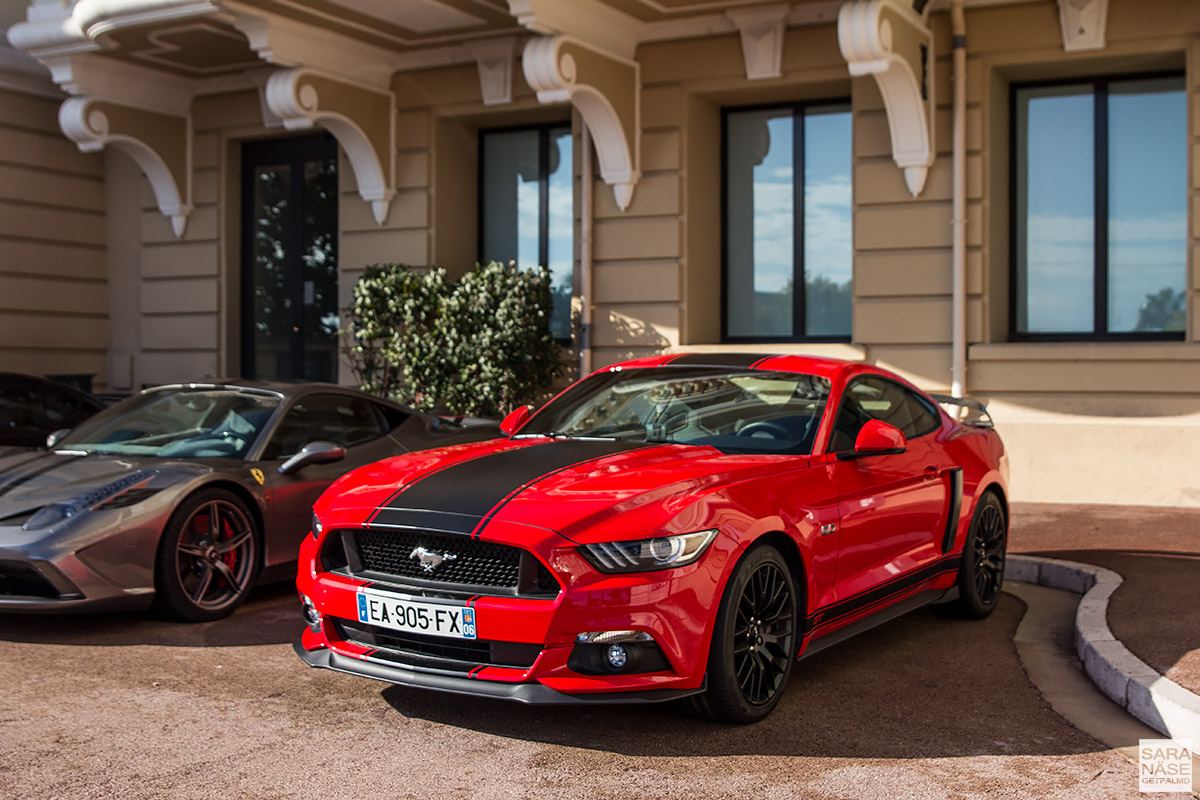 Ford Mustang - Cars & Coffee Monaco