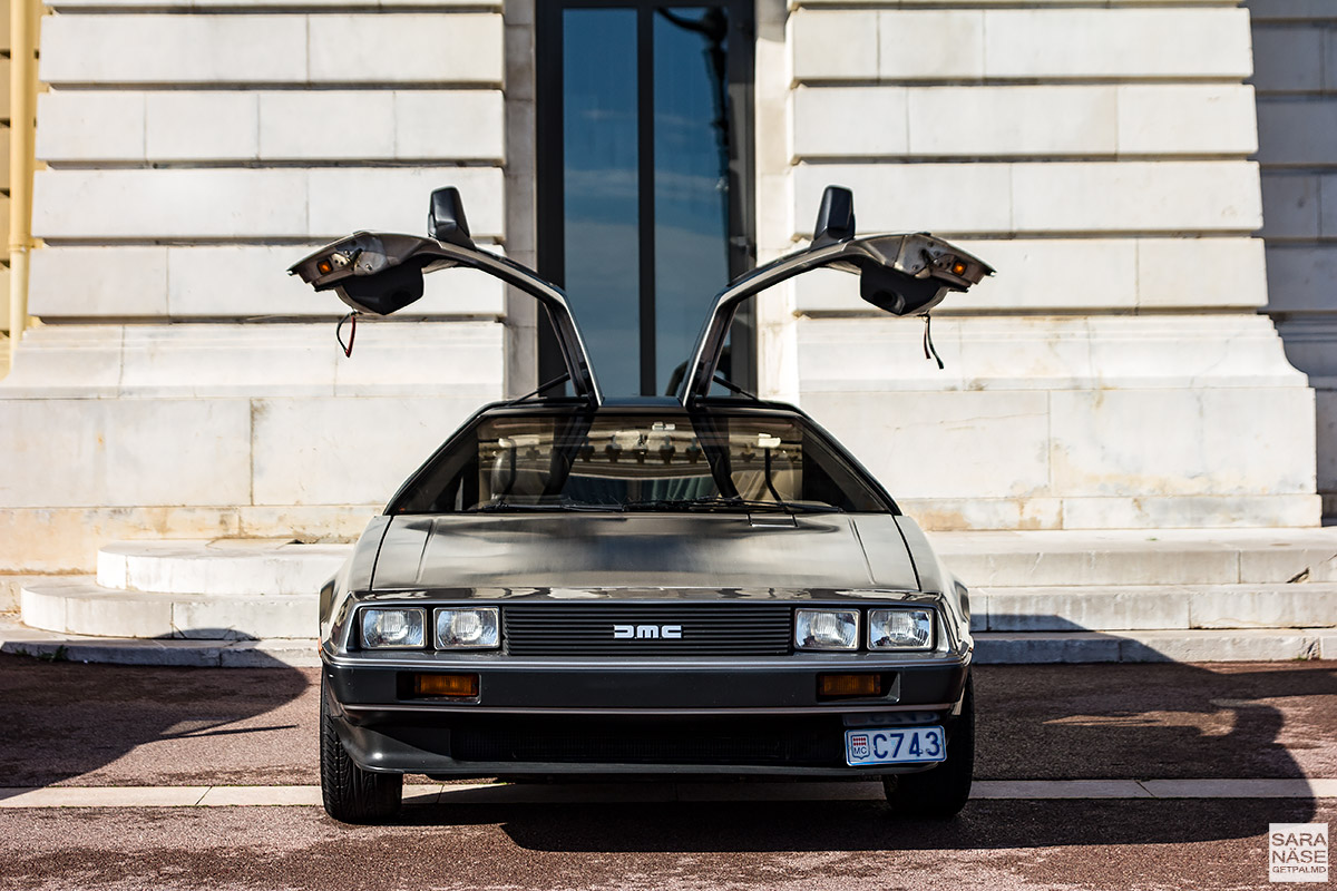 DeLorean DMC-12 - Cars & Coffee Monaco