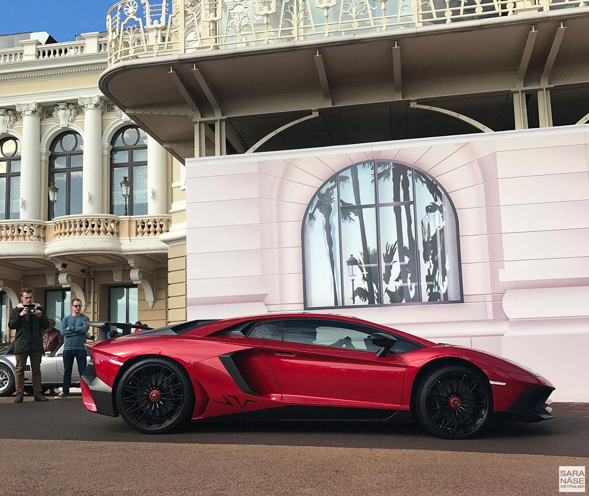 Lamborghini Aventador SV - Cars & Coffee Monaco