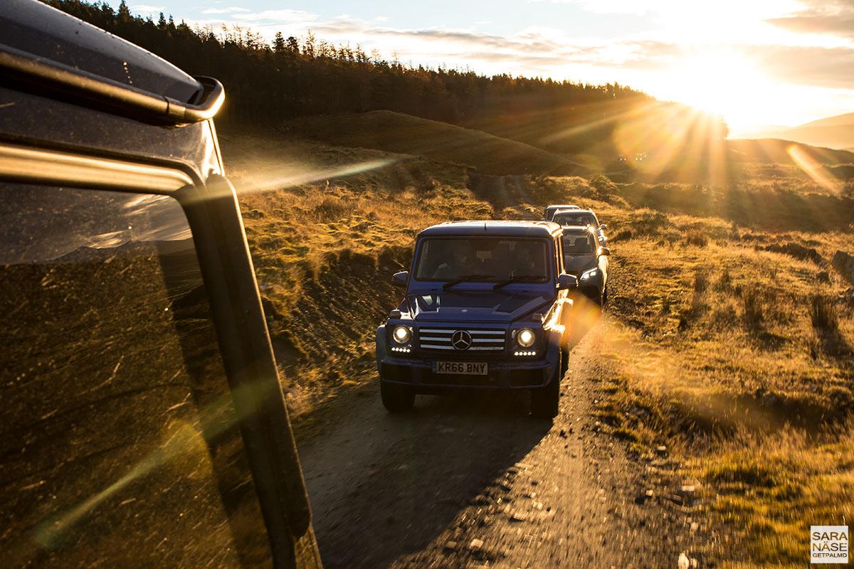 Mercedes-Benz G-Wagen Scotland