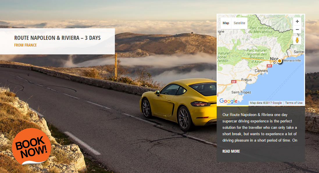 Route Napoleon & Riviera - the world's greatest driving roads in the best driver's cars - Colcorsa