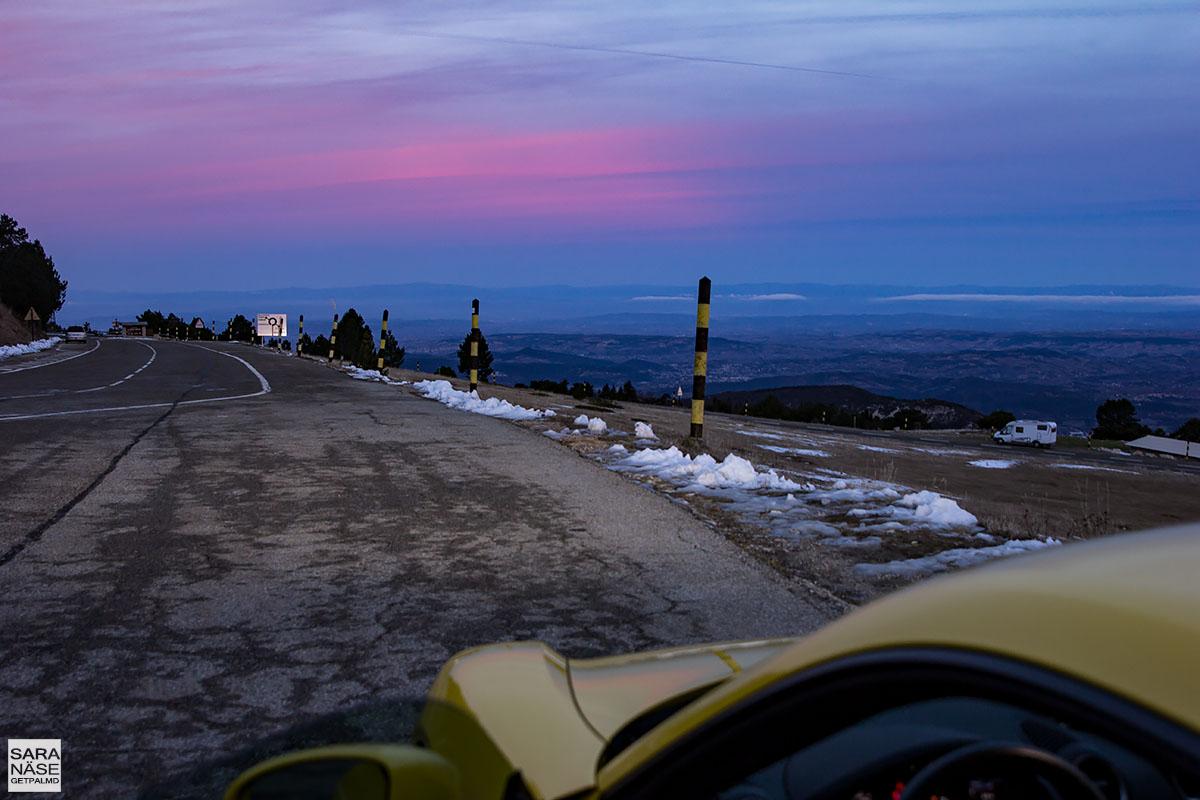 Porsche 718 Cayman - Mont Ventoux