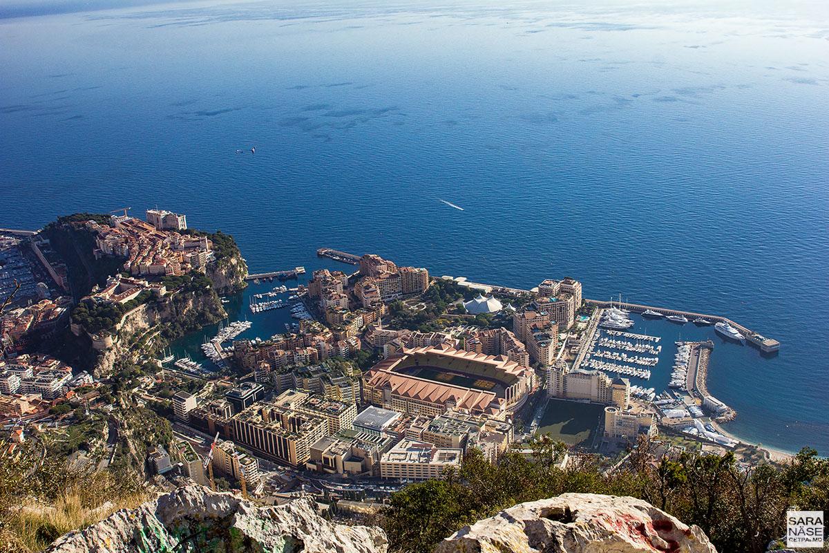 Tête de Chien - Monaco view