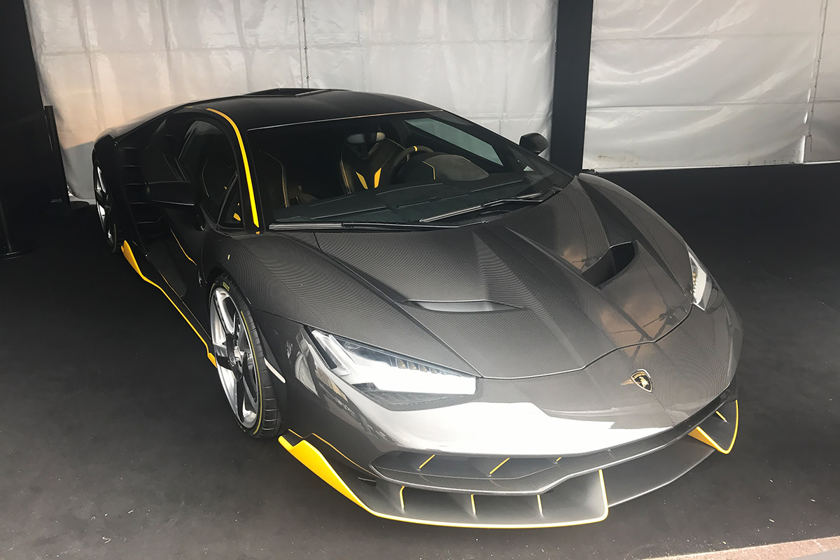 Monaco International Motor Show 2017 - Lamborghini Centenario