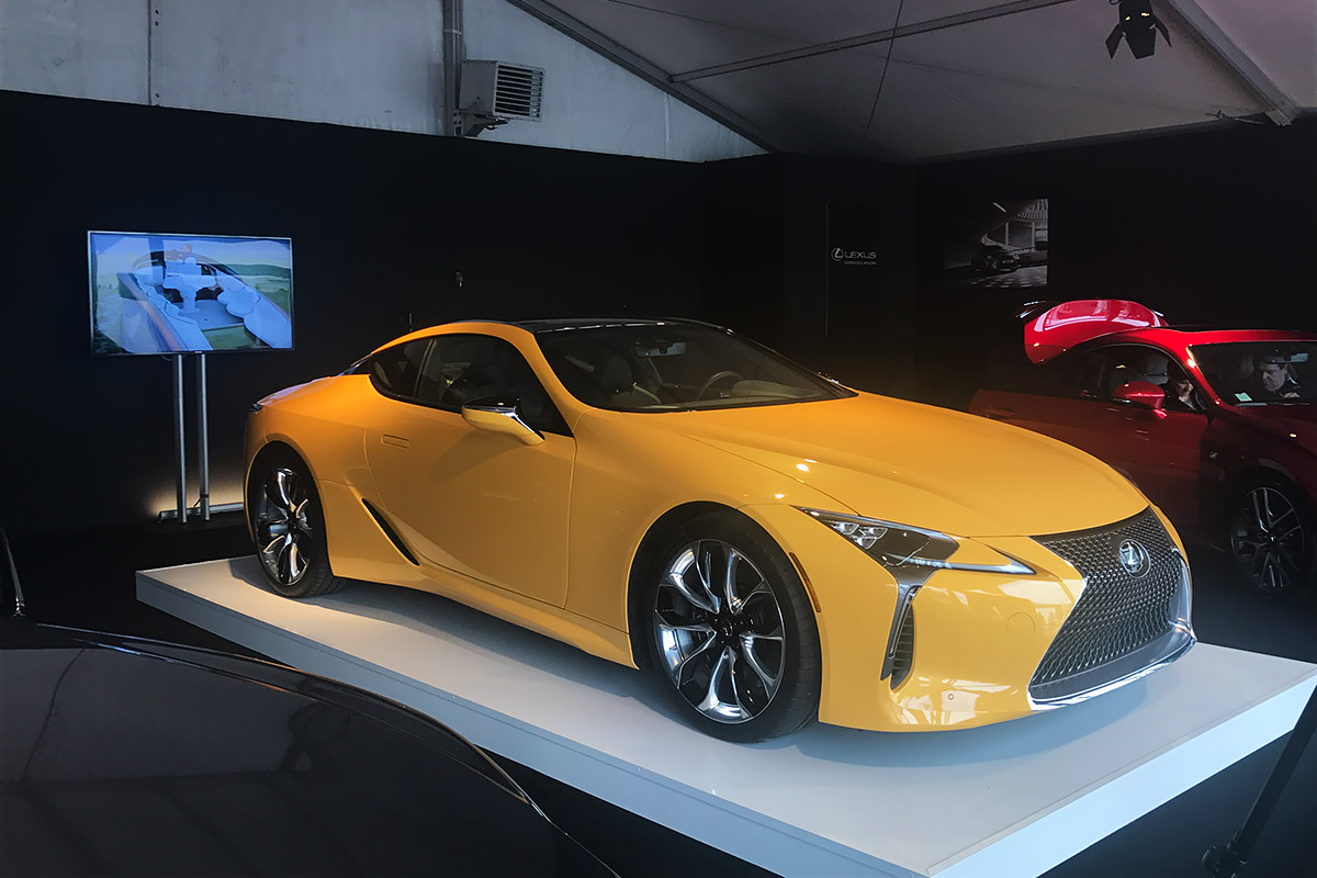 Monaco International Motor Show 2017 - Lexus LC 500 Coupe