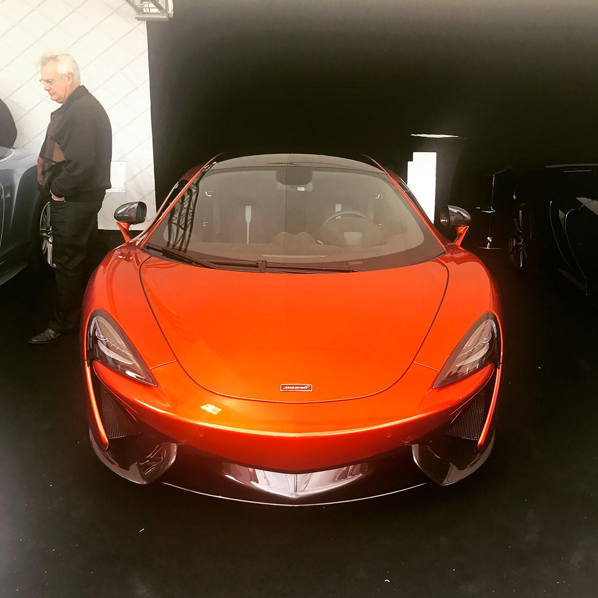 Monaco International Motor Show - McLaren