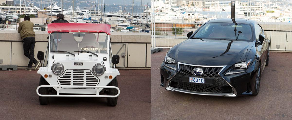 Monaco International Motor Show 2017 - Test drives