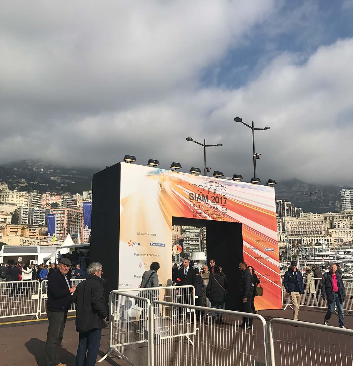 Monaco International Motor Show 2017 - SIAM 2017