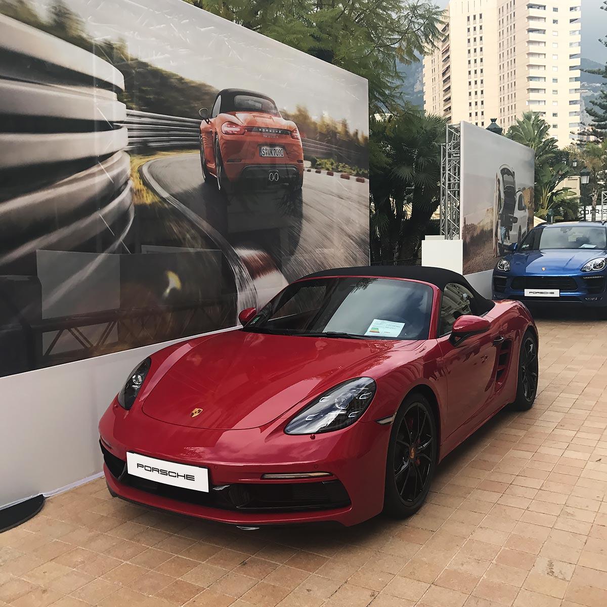 Monaco International Motor Show - Porsche 718 Boxster
