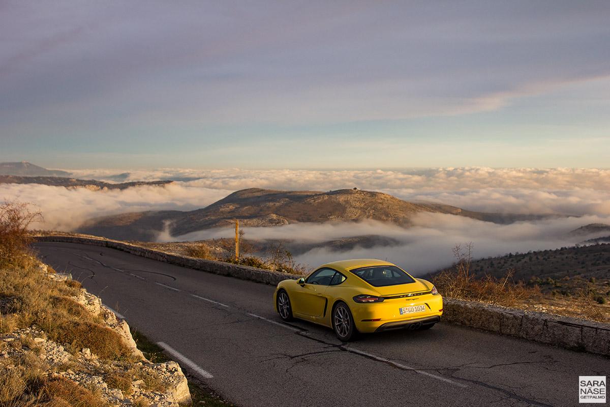 Col de Vence - Porsche 718 Cayman