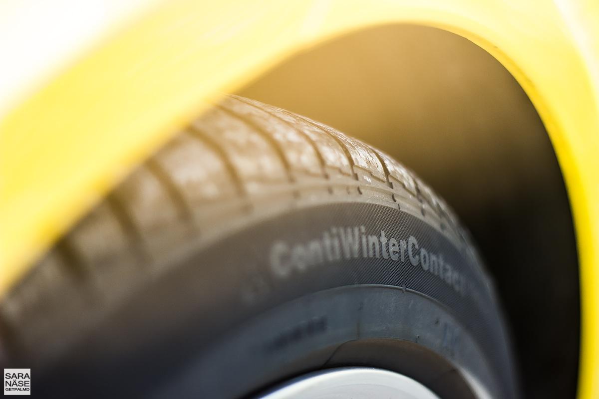 Porsche 718 Cayman - ContiWinterContact tires
