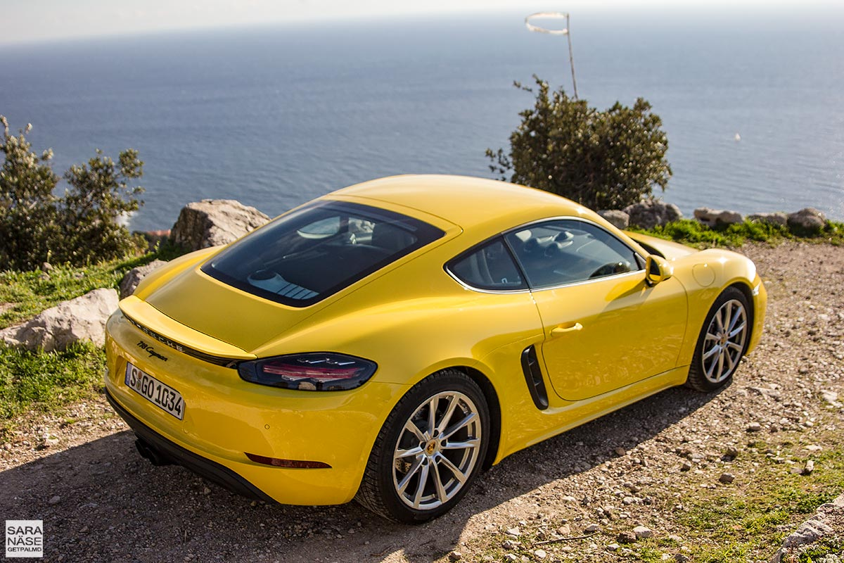 Porsche Driving Experience >> First drive: Porsche 718 Cayman - Racing yellow in South of France