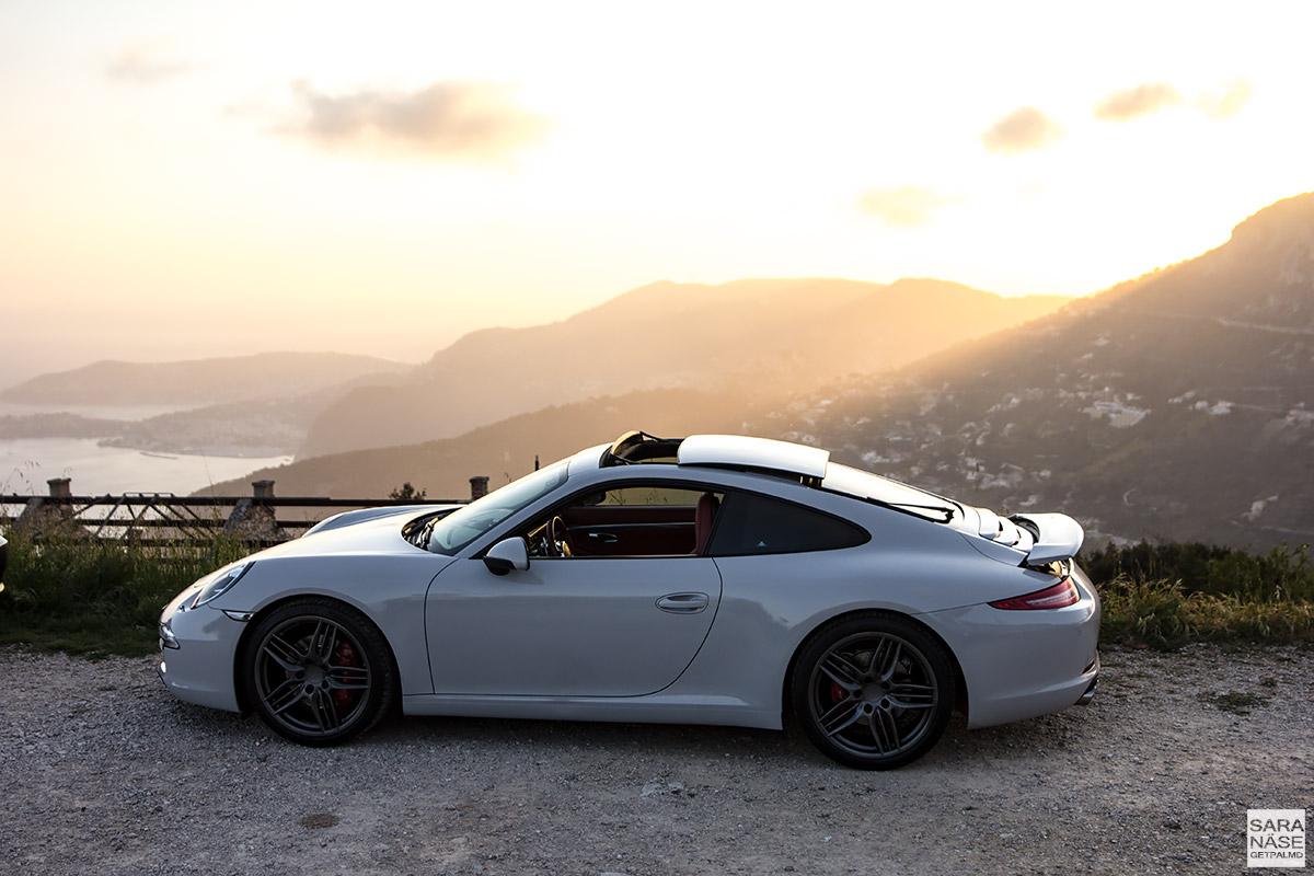 Porsche 911 - avery gloss grey wrap