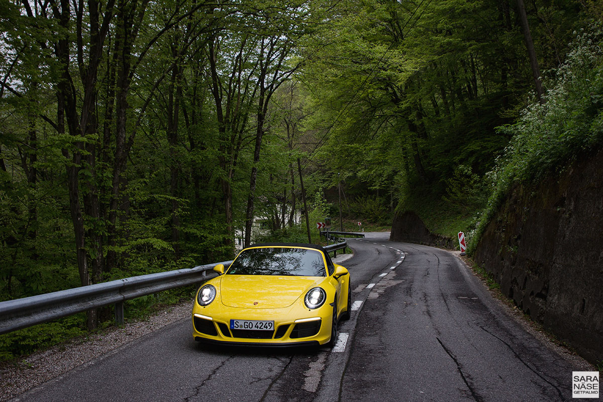 Porsche road trip in Slovenia