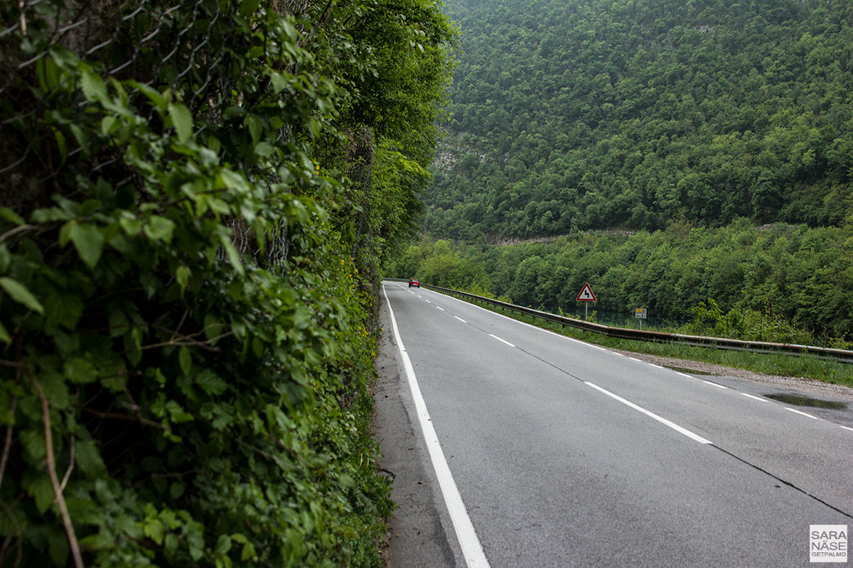 Porsche road trip in Slovenia