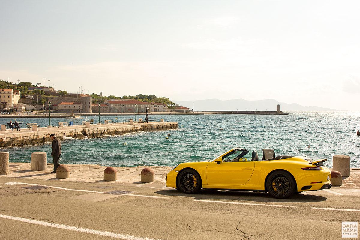 Porsche driving tour Croatia - Dalmatian coastline