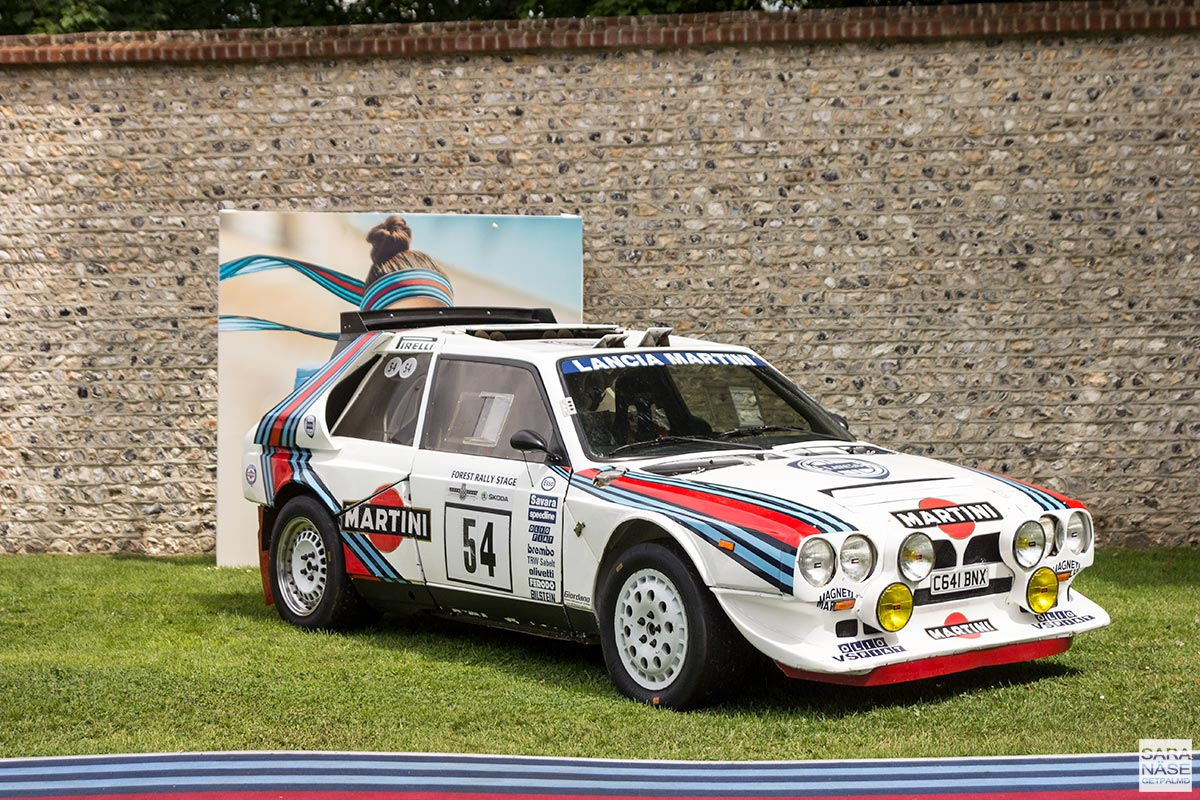 Lancia Martini - Goodwood Festival of Speed 2017