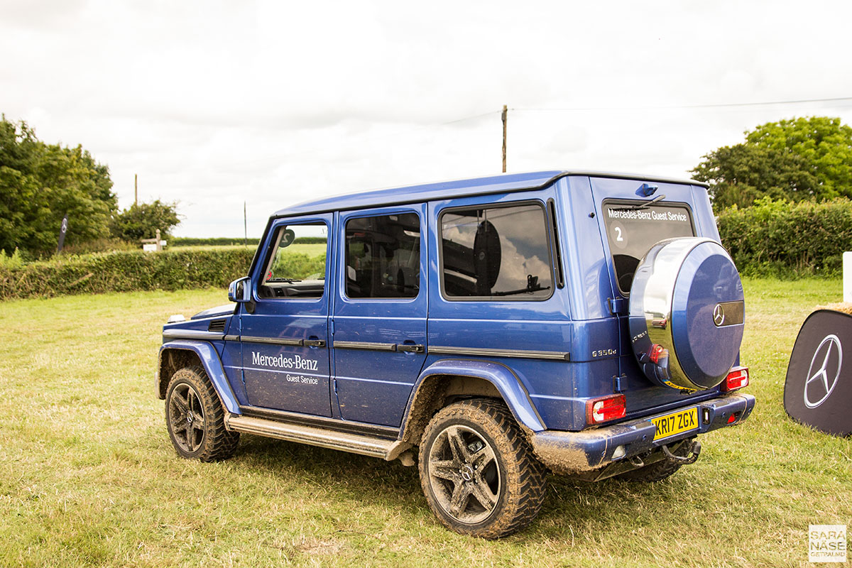 Mercedes-Benz off-road shuttle - Goodwood Festival of Speed