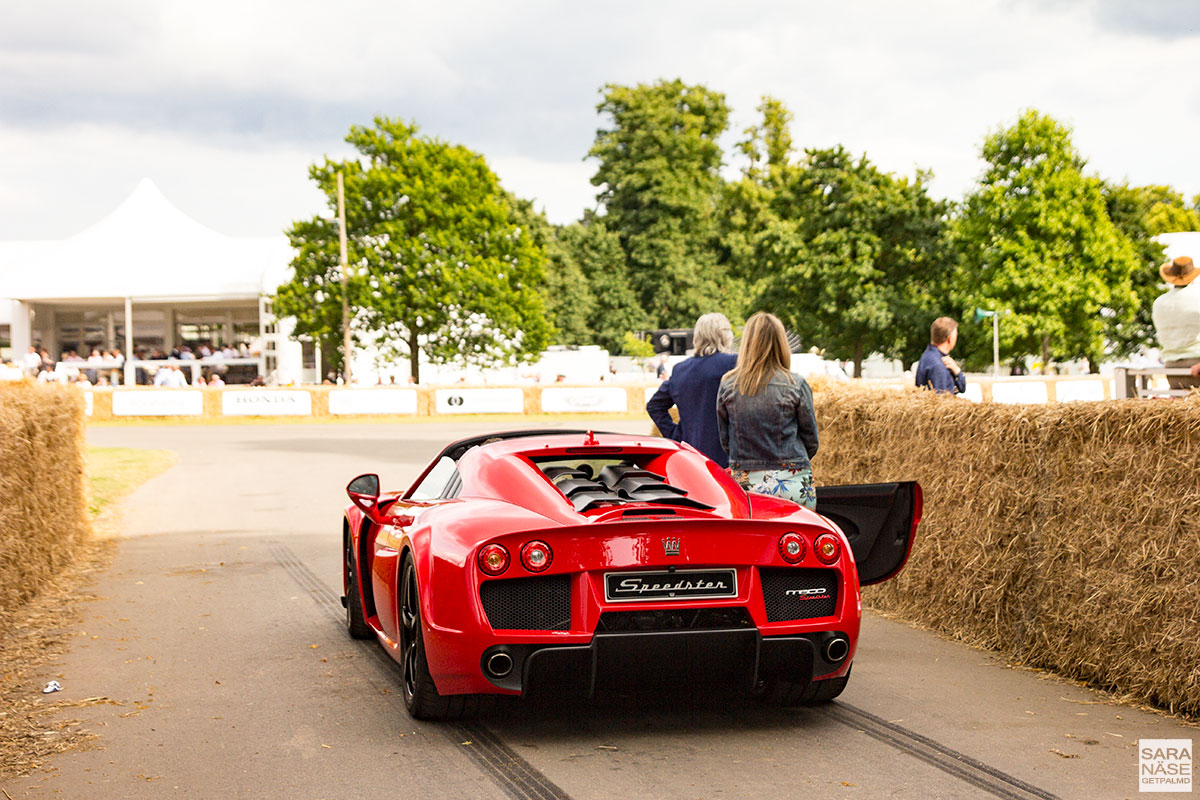 Noble Speedster - Goodwood Festival of Speed 2017