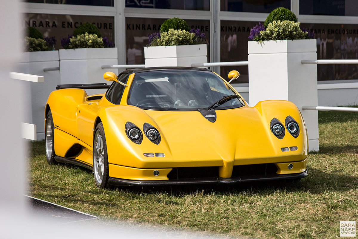 Pagani Zonda - Goodwood Festival of Speed 2017