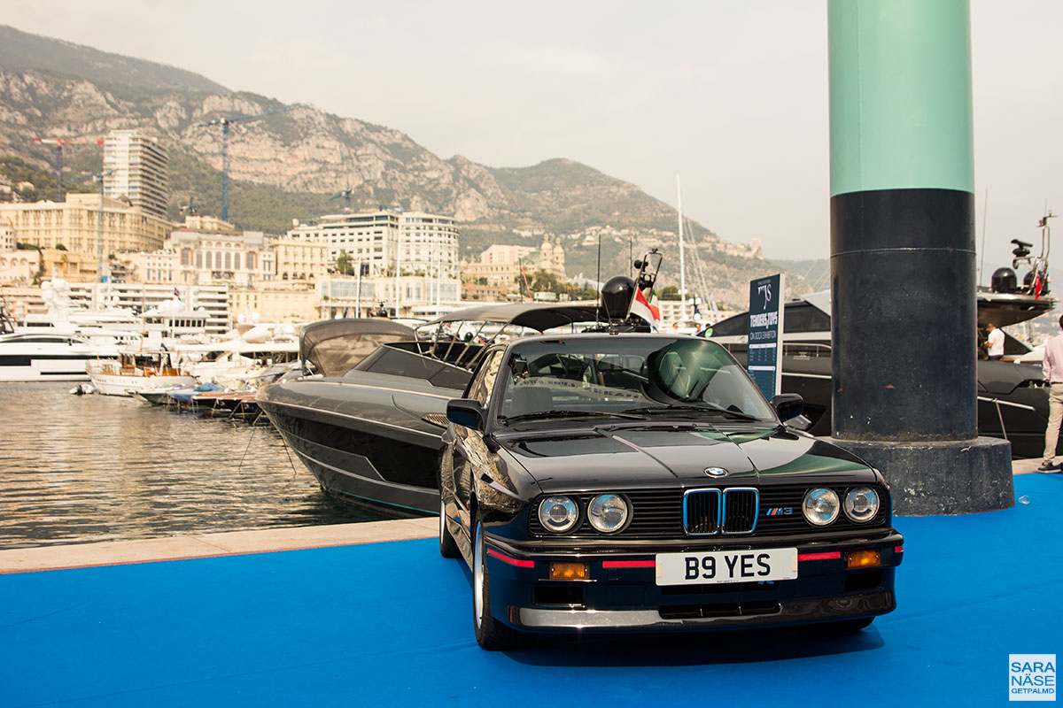 Monaco Yacht Show 2017 - BMW E30 M3 Munich Legends & Colcorsa