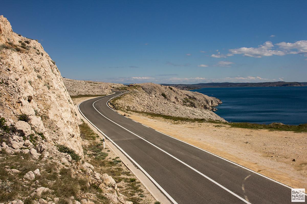 Pag Island - Croatia road trip