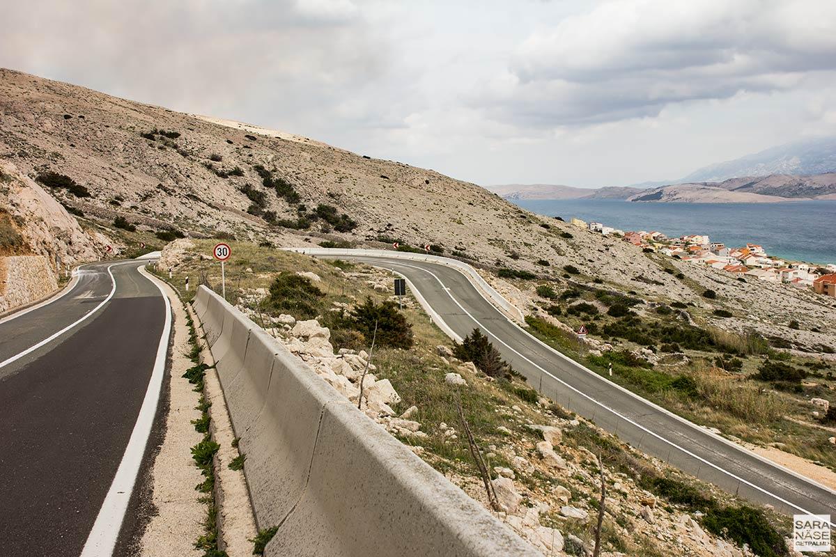 Pag road trip - Croatia - greatest driving roads