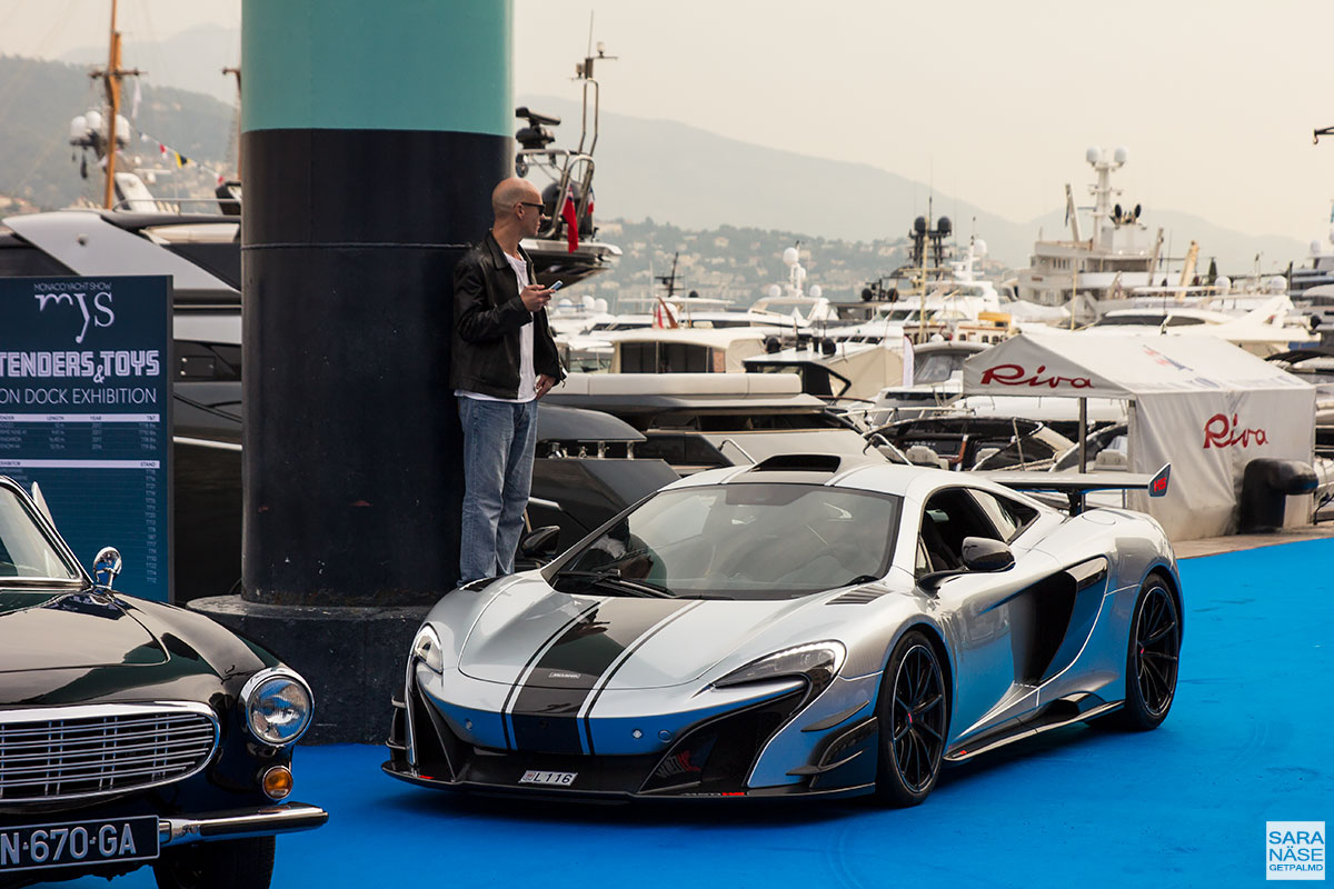 Monaco Yacht Show 2017 - Cars & Coffee Monaco - McLaren MSO HS
