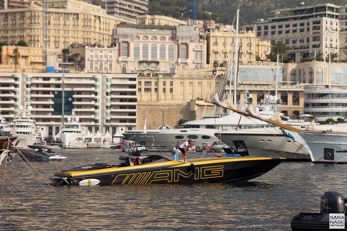 Monaco Yacht Show 2017 - AMG Cigarette Racing