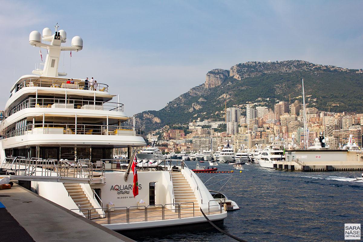 Monaco Yacht Show 2017 - Aquarius Feadship