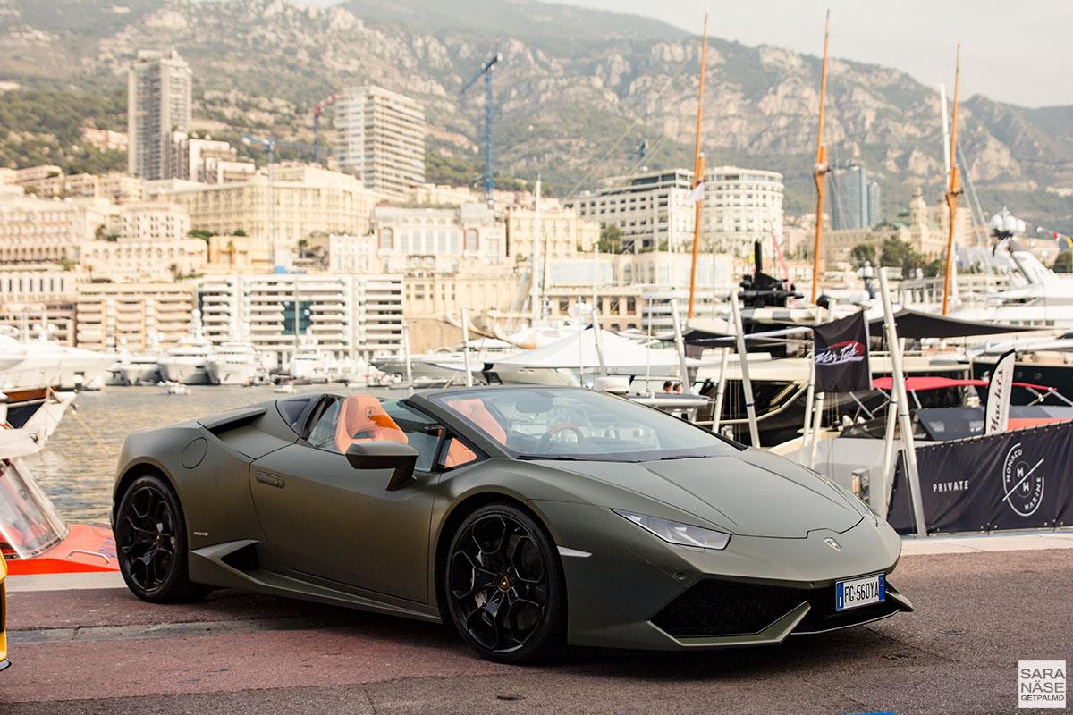Monaco Yacht Show 2017 - Lamborghini Huracan Spyder