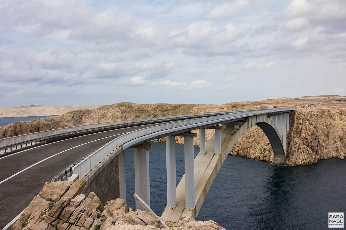 Pag bridge - Croatia