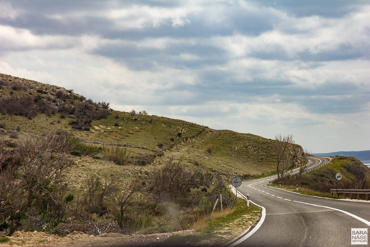 Pag Island - Croatia's best driving road