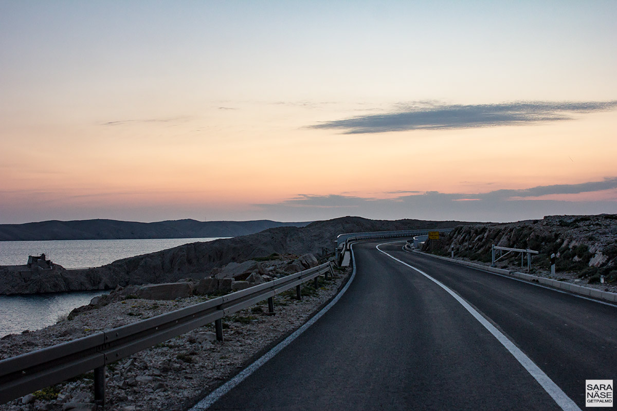 Best driving road in Croatia