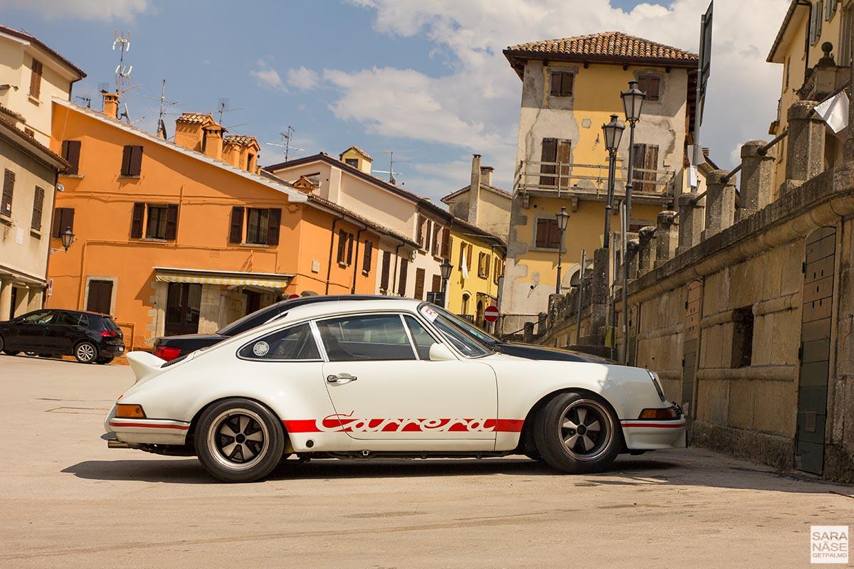 Mille Miglia 2017 - Porsche Carrera RS in San Marino