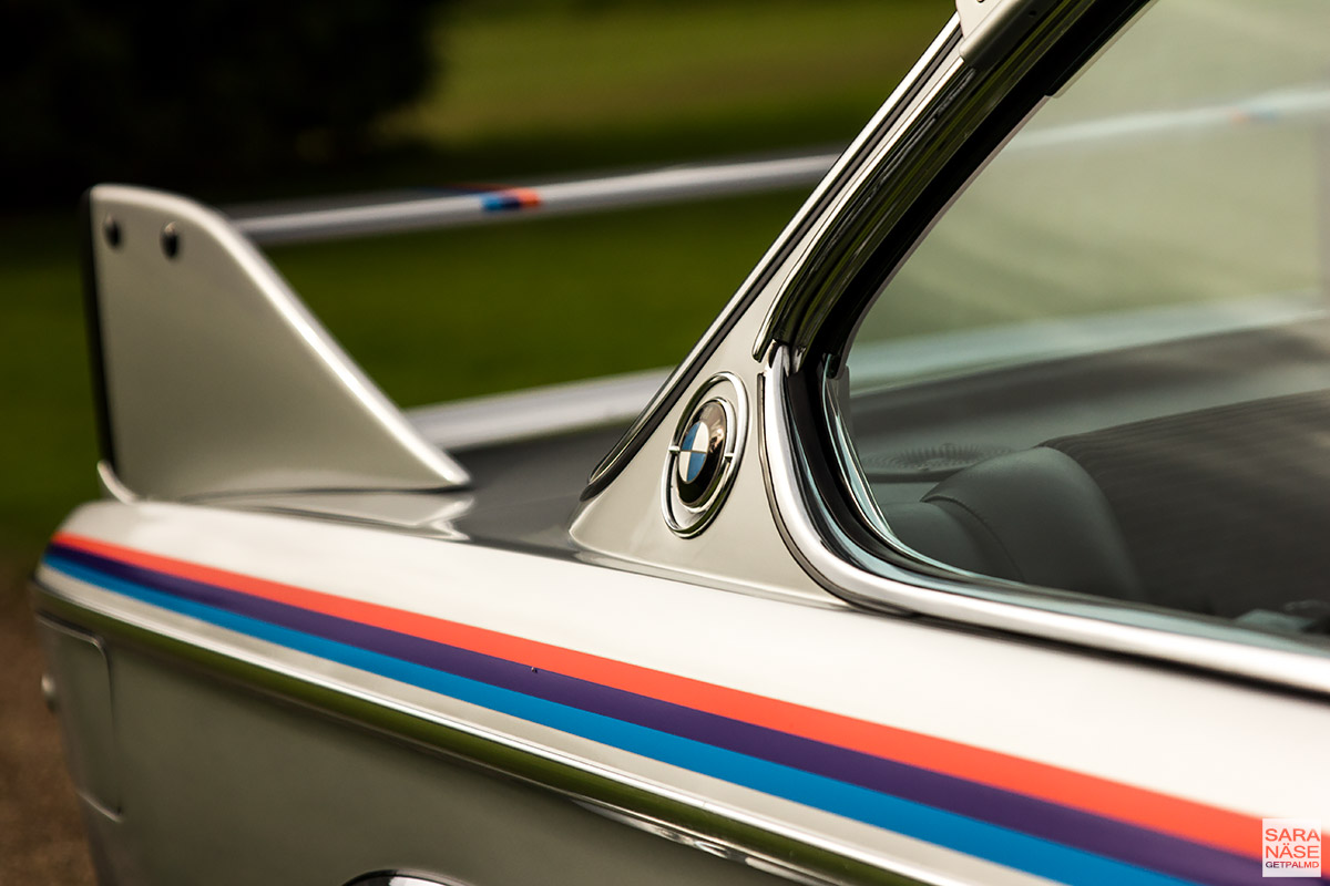 BMW E9 3.0 CSL Batmobile - BMW UK - Munich Legends
