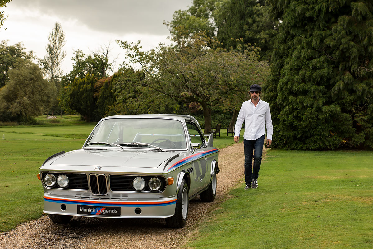 BMW E9 3.0 CSL Batmobile - Dan Norris - Munich Legends