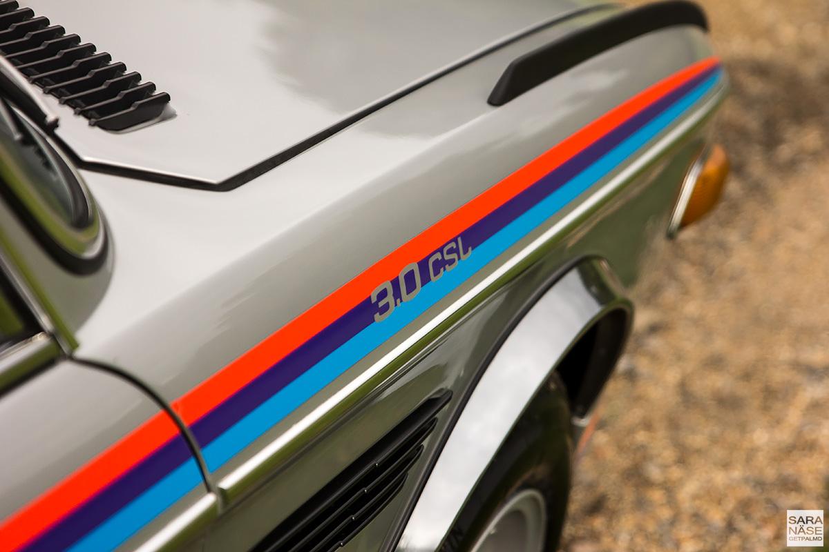 BMW E9 3.0 CSL Batmobile - BMW UK - Munich Legends