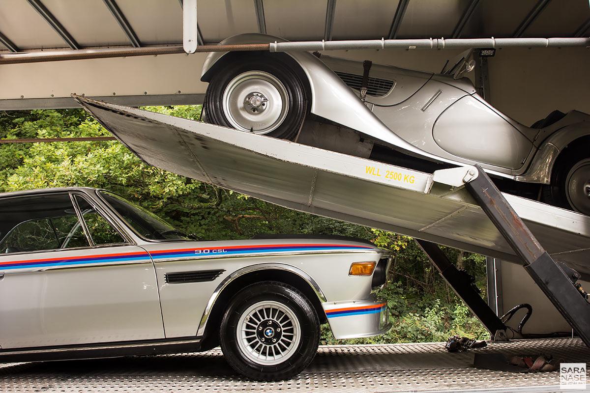 BMW 328 Frazer Nash & BMW E9 3.0 CSL Batmobile - Munich Legends UK