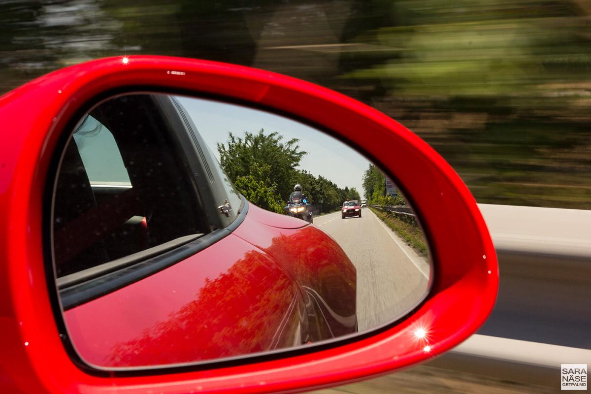 Mille Miglia police escort