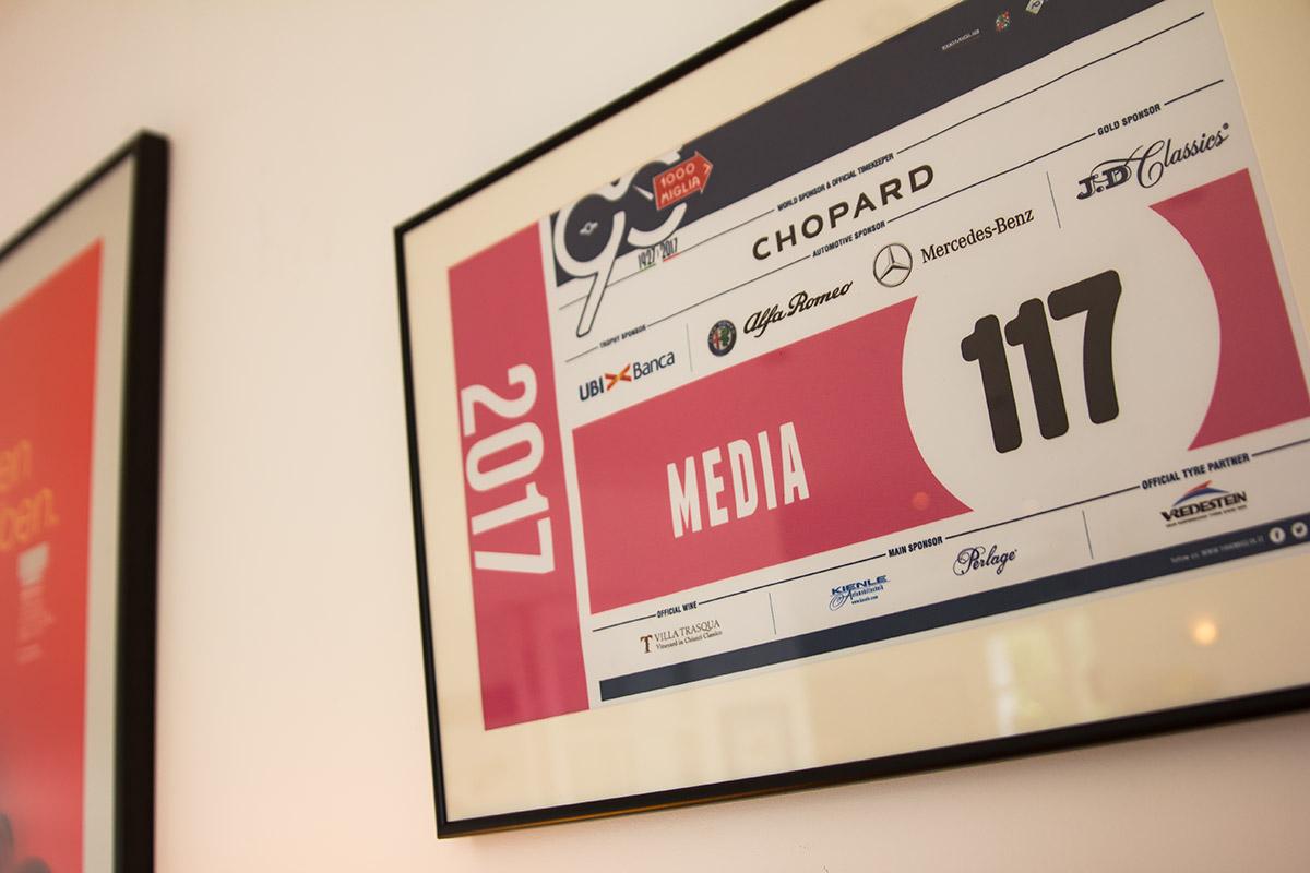 Mille Miglia 2017 media sticker