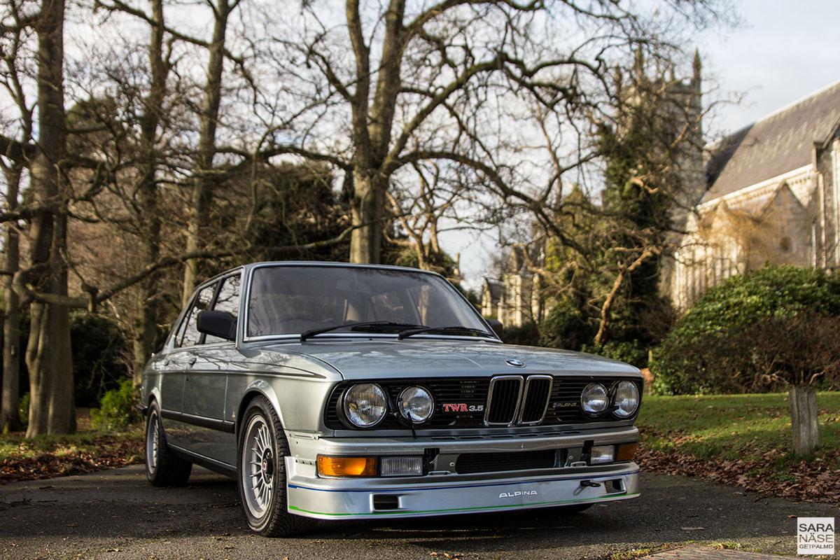 BMW 3.5 TWR E28 Alpina - Tom Walkinshaw Racing