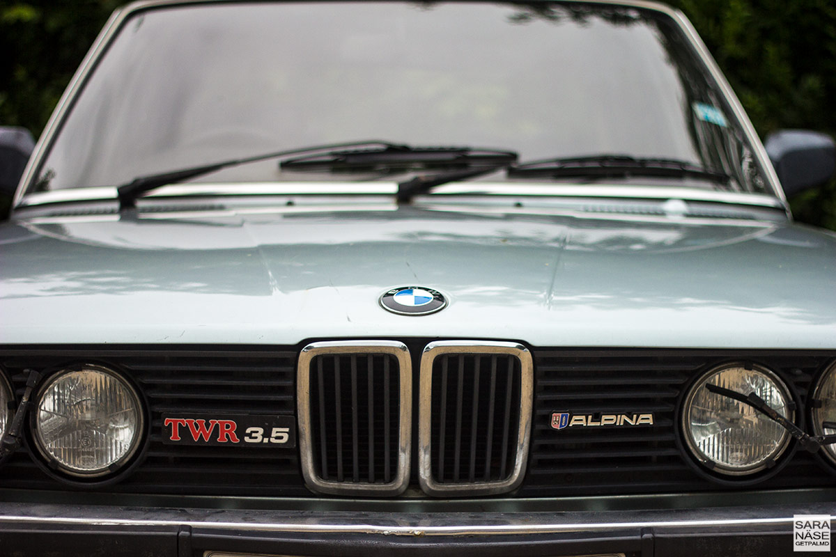 BMW 3.5 TWR E28 Alpina - Tom Walkinshaw Racing