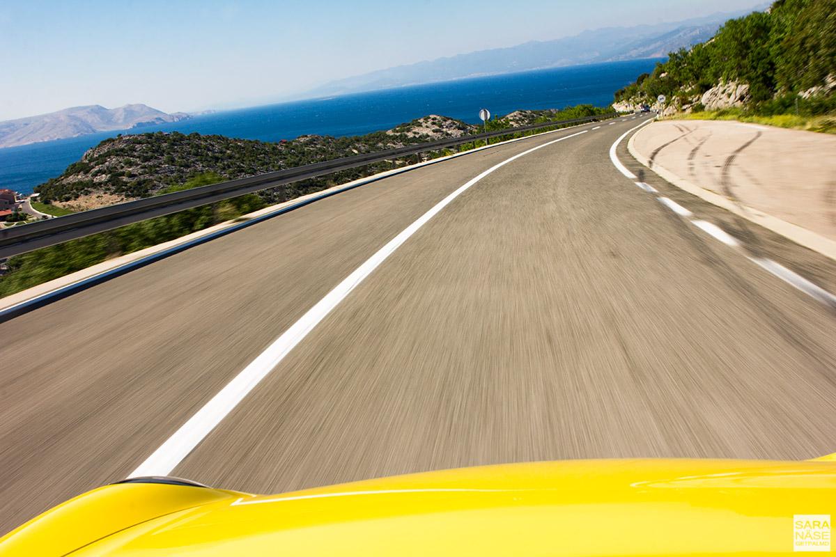 Best driving roads in Croatia - Dalmatian coast - Porsche tour