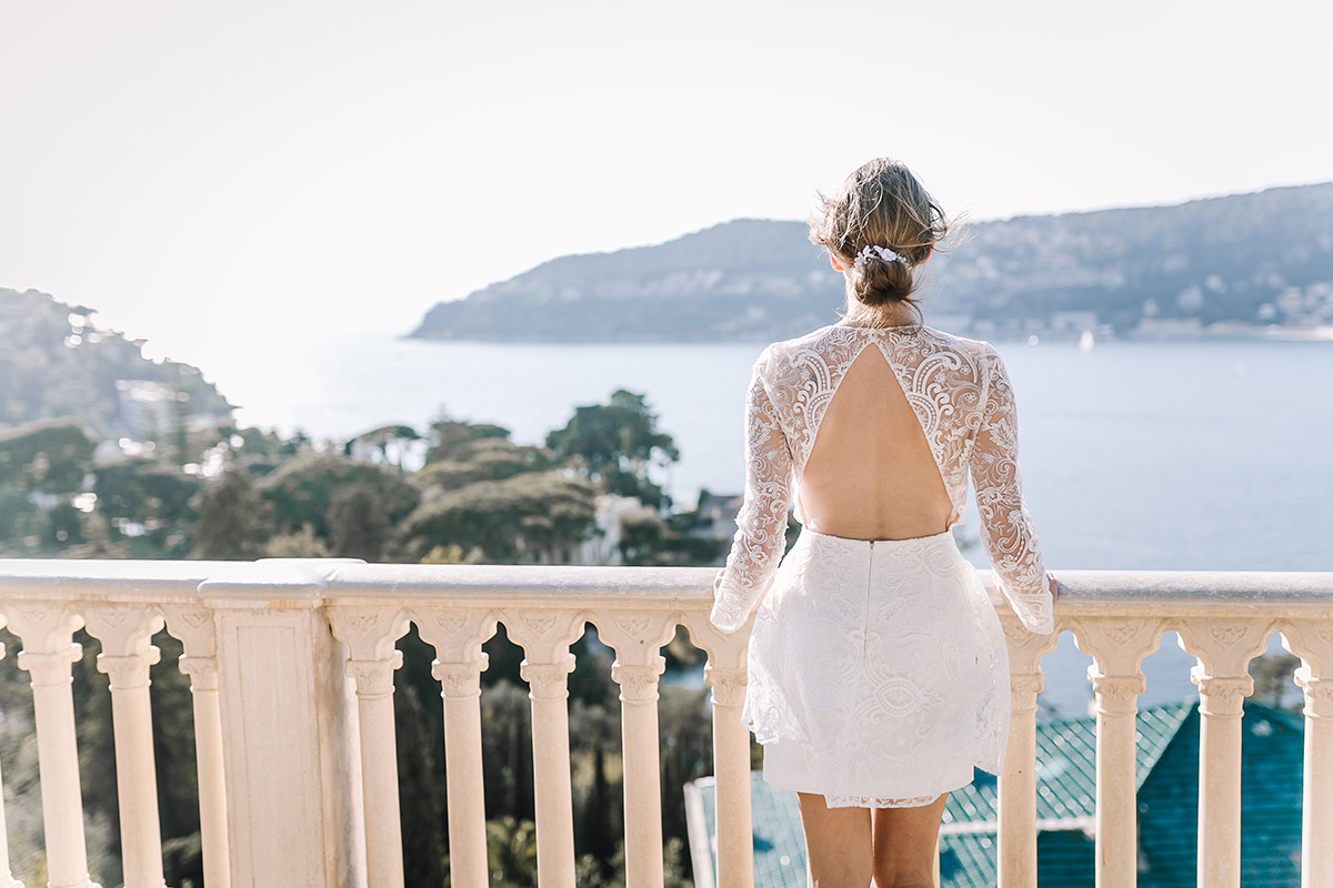Wedding - Villa Ephrussi de Rothschild- Sansa by Rime Arodaky